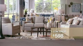 La-Z-Boy Two Great Chairs Event TV Spot, 'One Low Price' - Thumbnail 7