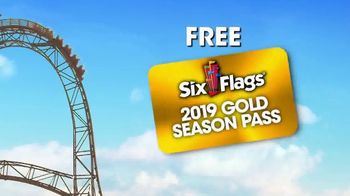 Six Flags Spring Sale TV Spot, 'Blow You Away: 2019 Season Pass' - Thumbnail 6