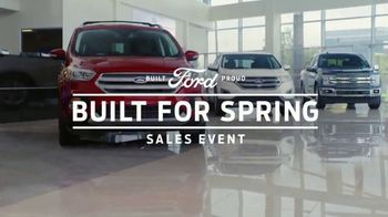 Ford Built for Spring Sales Event TV Spot, 'Get a Ford: Sports Cars, Trucks and SUVs' [T2] - Thumbnail 8