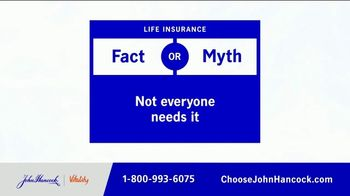 John Hancock Final Expense Life Insurance TV Spot, 'Fact or Myth' - Thumbnail 1