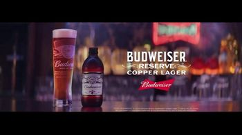 Budweiser Reserve Copper Lager TV Spot, 'There's a New Bud in Town' Featuring Charlize Theron - Thumbnail 10