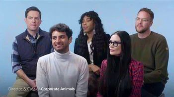 GEICO TV Spot, 'Sundance: Corporate Animals' Featuring Ed Helms, Demi Moore, Jessica Williams - Thumbnail 4