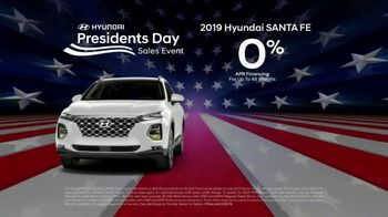 Hyundai Presidents Day Sales Event TV Spot, 'Presidential Savings' [T2]
