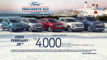 Ford Presidents Day Sales Event TV Spot, 'Teddy Roosevelt' [T2] - Thumbnail 10