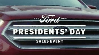 Ford Presidents Day Sales Event TV Spot, 'Teddy Roosevelt' [T2] - Thumbnail 7