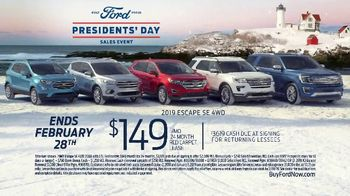 Ford Presidents Day Sales Event TV Spot, 'Teddy Roosevelt' [T2] - Thumbnail 8