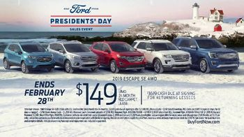 Ford Presidents Day Sales Event TV Spot, 'Teddy Roosevelt' [T2] - Thumbnail 9