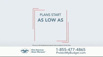 First American Home Warranty TV Spot, 'Call or Click' - Thumbnail 4