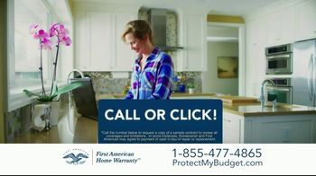 First American Home Warranty TV Spot, 'Call or Click' - Thumbnail 6