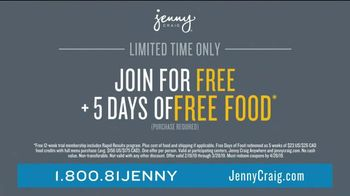 Jenny Craig Rapid Results TV Spot, 'Rashid: Five Days of Free Food' - Thumbnail 7