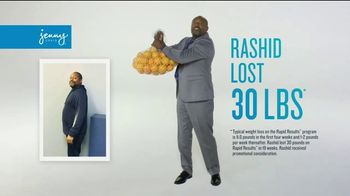Jenny Craig Rapid Results TV Spot, 'Rashid: Five Days of Free Food' - Thumbnail 2
