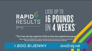 Jenny Craig Rapid Results TV Spot, 'Rashid: Five Days of Free Food' - Thumbnail 4