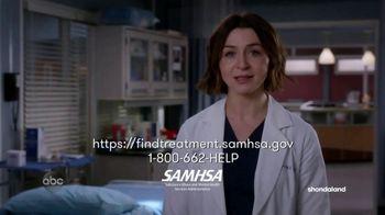SAMHSA TV Spot, 'ABC: Find Treatment' Featuring Caterina Scorsone