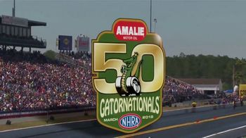 NHRA TV Spot, '2019 Amalie Motor Oil Gatornationals: See It to Believe It'