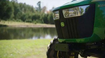 John Deere 3025E Tractor TV Spot, 'Your Land' - Thumbnail 6