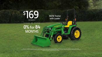 John Deere 3025E Tractor TV Spot, 'Your Land' - Thumbnail 8