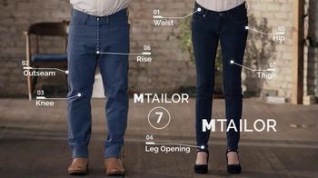 MTailor TV Spot, 'Perfectly Fitted Custom Jeans' - Thumbnail 4