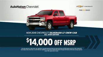 AutoNation TV Spot, '12 Million Vehicles: Chevrolet Silverado and Spark'