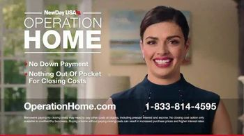 NewDay USA Operation Home TV Spot, 'Helping Veterans'
