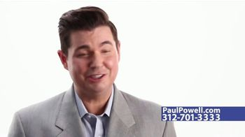 The Paul Powell Law Firm TV Spot, 'More Lawyer for Less Fee'