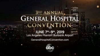 ABC TV Spot, '2019 General Hospital Convention' - 1 commercial airings