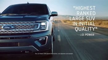 2018 Ford Expedition TV Spot, 'New Definition of Space' [T2] - 5 commercial airings
