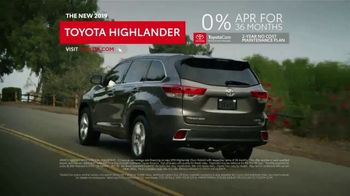 2019 Toyota Highlander TV Spot, 'Room to Be a Kid' [T2] - Thumbnail 7