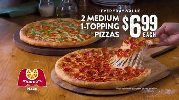 Marco's Pizza TV Spot, 'Hello Primo: Two Medium One Topping Pizzas' - Thumbnail 7