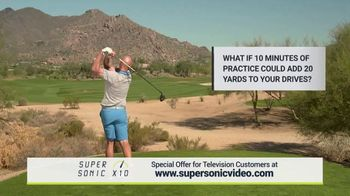 Super Sonic X10 TV Spot, '10 Minutes of Practice a Day' - 322 commercial airings