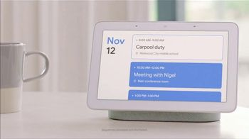 Google Home Hub TV Spot, 'Morning' - Thumbnail 7