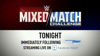 Facebook Watch TV Spot, 'WWE Mixed Match: Hardy and Charlotte vs. R-Truth and Carmella' - Thumbnail 10