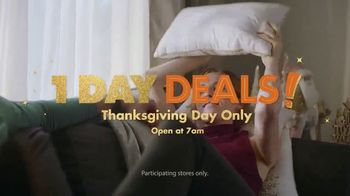 Big Lots Big Thanksgiving Sale TV Spot, 'Electric Fireplaces' Song by Three Dog Night