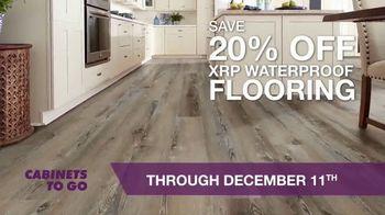 Cabinets To Go TV Spot, 'Waterproof Flooring Event'