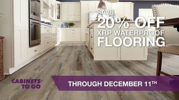 Cabinets To Go TV Spot, 'Waterproof Flooring Event'