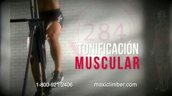 MaxiClimber Fitness App TV Spot, 'Trabaja todo tu cuerpo' [Spanish]
