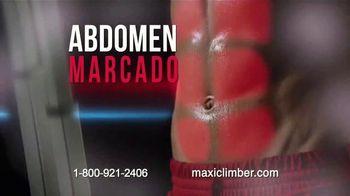 MaxiClimber Fitness App TV Spot, 'Trabaja todo tu cuerpo' [Spanish] - Thumbnail 5