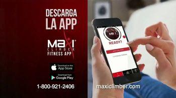 MaxiClimber Fitness App TV Spot, 'Trabaja todo tu cuerpo' [Spanish] - Thumbnail 7