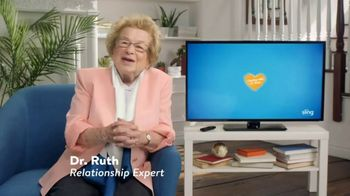 Sling TV Spot, 'Don't Fake It' Featuring Dr. Ruth - Thumbnail 1