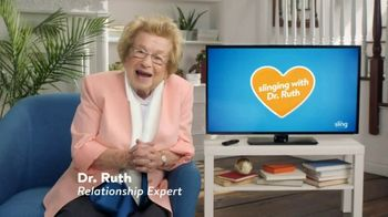 Sling TV Spot, 'Don't Fake It' Featuring Dr. Ruth - Thumbnail 2