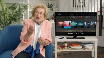 Sling TV Spot, 'Don't Fake It' Featuring Dr. Ruth - Thumbnail 5