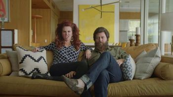Sling TV Spot, 'Freedom: 80,000+ Videos On Demand ' Ft. Nick Offerman, Megan Mullally - Thumbnail 2