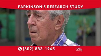 Eli Lilly TV Spot, 'Parkinson's Research Study' - Thumbnail 2