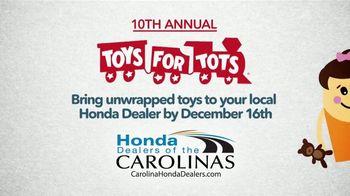 Honda TV Spot, 'Toys for Tots ' [T2] - Thumbnail 6
