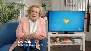 Sling TV Spot, 'Seven Night Stand' Featuring Dr. Ruth - Thumbnail 1