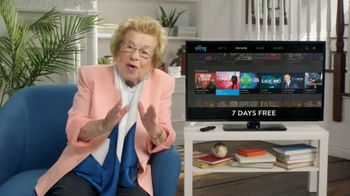 Sling TV Spot, 'Seven Night Stand' Featuring Dr. Ruth - Thumbnail 3