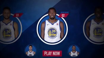 NBA InPlay TV Spot, 'Earn Points' - 490 commercial airings