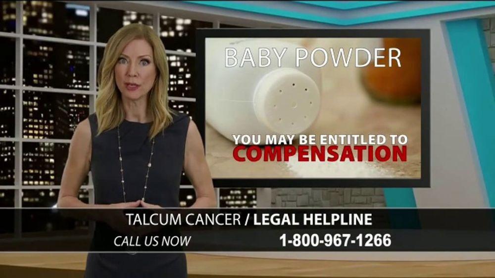 Ben Crump Law TV Commercial, 'Talcum Cancer Helpline'