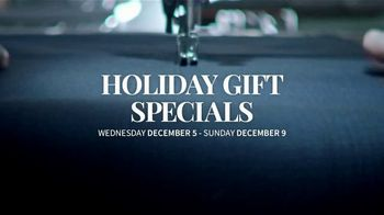 JoS. A. Bank Holiday Gift Specials TV Spot, 'Pima Cotton Sweaters and Blazers' - Thumbnail 1