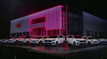 Kia Light Up the Holidays Sales Event TV Spot, ''Tis the Season: Light Show' [T1] - Thumbnail 1