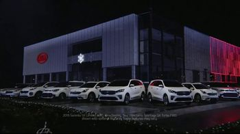Kia Light Up the Holidays Sales Event TV Spot, ''Tis the Season: Light Show' [T1] - Thumbnail 3